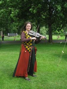 Kristin Fornfela – en musikant med stark närvaro.