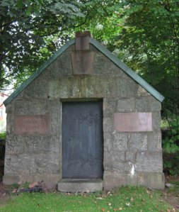 Kammarherre Magnus Lagerbergs gravkor.