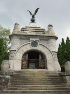John Ericssons ståtliga mausoleum i Filipstad.