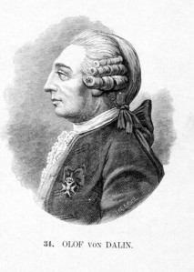 Skalden Olof von Dalin skrev julklappsverser åt Sveriges konungahus redan 1752.