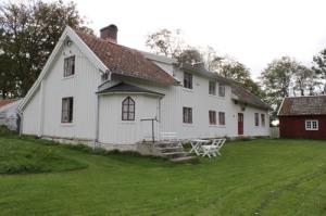 Mårtagården är en av Nordhallands bemärkta kaptensgårdar.
