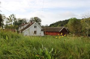 Mårtagården ligger naturfagert och var åren kring 1920 sommarkoloni. Många mölndalsbarn levde här koloniliv.