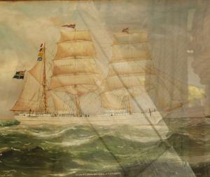 Seglande skepp gav välstånd åt Nordhalland.