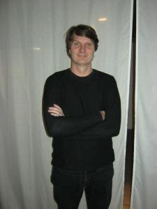 Pål Dunér var fascinerad av vattentornet i Eksjö och   kunde förmedla sin upplevelse till åhörarna.