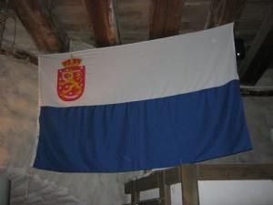 Finlands andra flagga tillkom i Marstrand 1862.