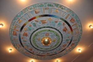 Ernst Billgrens takstuckatur visar olika   slags matvaror. Foto: Hans Lundholm.