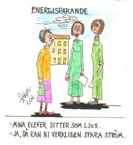 En av Anders' skämtteckningar.