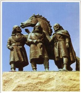 """Varför är de tre kungarna avbildade tillsammans med en häst? Anders har kommit på svaret: """"Det stod alltid en kamp mellan Nordens kungar."""""""