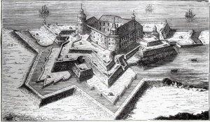 Älvsborgs slott blev tvisteäpplet under brännefejden.