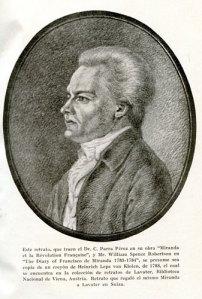 Francisco de Miranda, en mytomspunnen förelöpare för Sydamerikas befrielse.