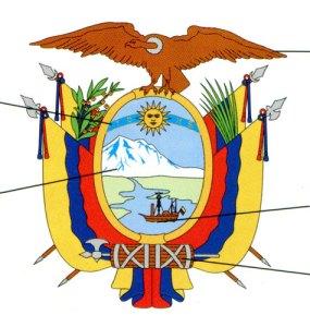 Ecuadors vapen.