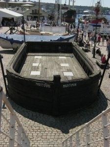 Göteborgspråmen väcker minnen av Mölndals sjöfart.