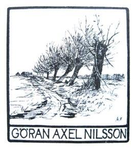 Göran Axel-Nilssons skånska exlibris.