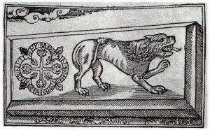 Ett träsnitt av Johannes Bureus är vår äldsta avbildning.