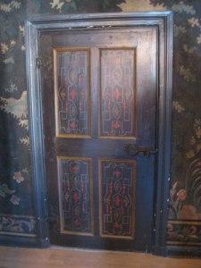 Dörren är av allt att döma äldre än huset! Foto: Ingvar Riksén.