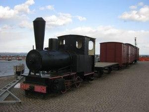 Kom min far till Hjo med detta lokomotiv? Foto: Lars Gahrn.