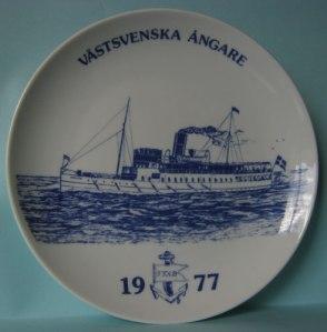 Prydnadstallrik med Bohusläns kraftfulla profil.