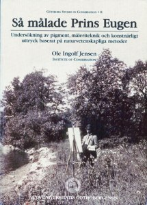 Avhandlingens omslag visar prins Eugen, som målar ute i naturen.