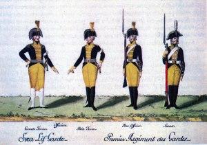 År 1807 antogs denna uniform.
