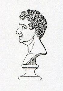 Kristian Fredrik valdes till norsk konung den 17 maj 1814. Han har här porträtterats av Thorvaldsen.