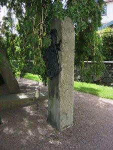 Gregorius Aminoffs gravvård på Marstrands kyrkogård. Foto: Lars Gahrn.