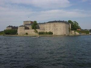 Vaxholms fästning är en utmärkt plats för en sekelskiftesdag. Stämningen från 1800-talet är ostörd. Foto: Lars Gahrn.