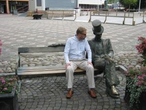 Niklas Krantz och Ferlin.
