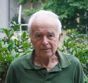 Sven Sandblom – tonsättare, överstelöjtnant och fritidsforskare. (Foto: Enköpings-Posten.)