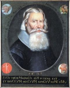 Johannes Bureus besökte Västsverige år 1603 – men inte Vinga, Sveriges yttersta utpost mot Västerhavet.