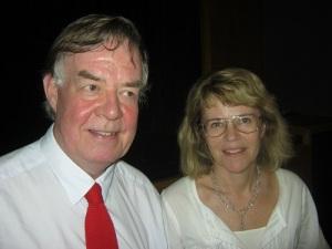 Filmaren Dan Kristensson och Marianne Ryde, hans ciceron och berättare.