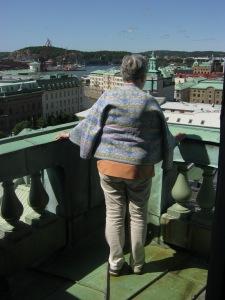 Utsikt från domkyrkotornet.