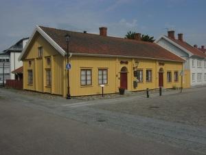 Dockmuseet är en betagande vacker byggnad i gamla Vänersborg. Foto: Lars Gahrn.