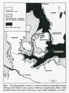 För 10 000 år sedan var de öppna havsvidderna mycket mindre än i våra dagar. Man kunde färdas i kanot över stora sträckor med betydligt mindre fara.