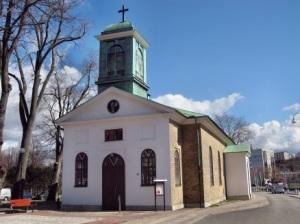 Mariakyrkan vid Mölndalskanalen. Foto: Anders Västlund.