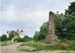 Den liberale skolmannen Torsten Rudenschöld fick en minnessten vid Läckö.
