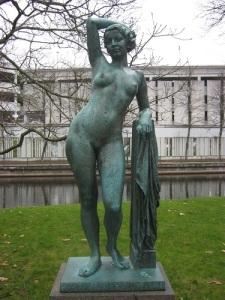 Galatea i Stadsparken är allmänt uppskattad.