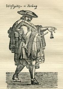 Knalle från 1719, en av de mest kända bilderna från Borås.