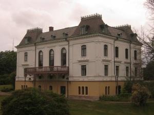 Villa Elfhög i Trollhättan blev mötesplats, när Föreningen för Västgötalitteratur höll årsmöte. Foto: Lars Gahrn.