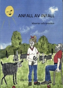 Ulla Enalid Thomsen har ibland ägnat sig åt klippning, vilket detta omslag erinrar om.