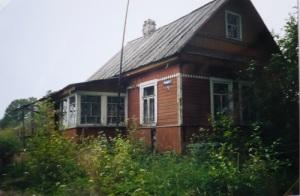 Författarinnans barndomshem i Ingermanland.