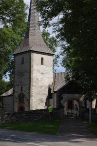 Västerplanas torn – ett uppskattat kännemärke för Kinnekulle. Foto: Björn Sjöstedt.