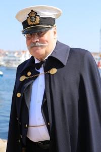 I vimlet sågs även kommendanten på Carlsten. Foto: Jan-Arne Björkman.