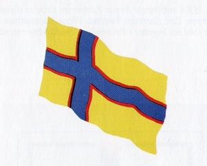 Ingermanlands flagga.