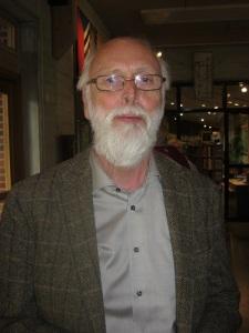 Bo Gustavsson – vår västsvenske polletthistoriker. Foto: Lars Gahrn.