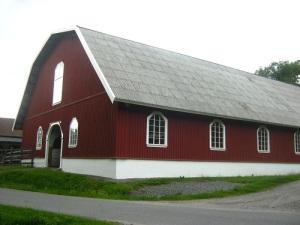 Manegen på Mariebergs gård, ritad för Strömsholm.