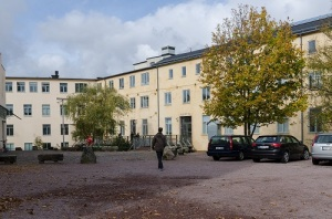 Gamla strumpfabriken – en gång strumpfabrik, sedan musikhus, därefter stadsmuseum.