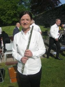 Christina Lundin, dirigent och musiker.
