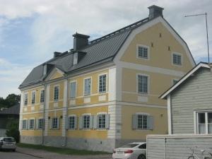I Borgå gymnasium (nu domkapitel) hölls flera sammankomster under lantdagen. Foto: Lars Gahrn.