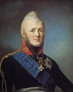Tsar (eller kejsar) Alexander I, storfurste av Finland.