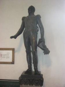 Tsar Alexanders staty i Borgå domkyrka. Foto: Lars Gahrn.